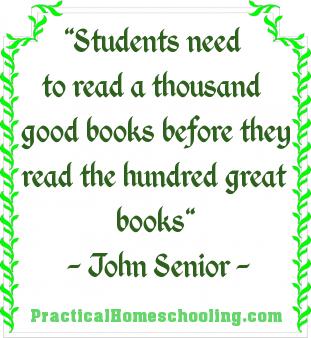 the 1000 good books   practical homeschooling magazine