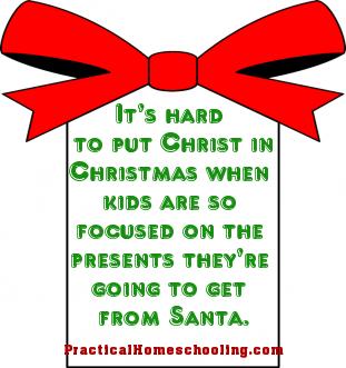 Christmas Articles.Ch Mas Or Christmas Practical Homeschooling Magazine