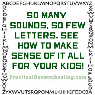 Teaching the Alphabet Sounds - Practical Homeschooling Magazine