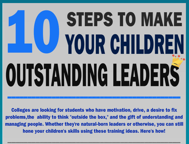 Ten Steps to Make Our Children Outstanding Leaders - Intro
