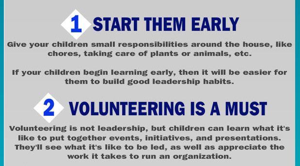 Start early and volunteer