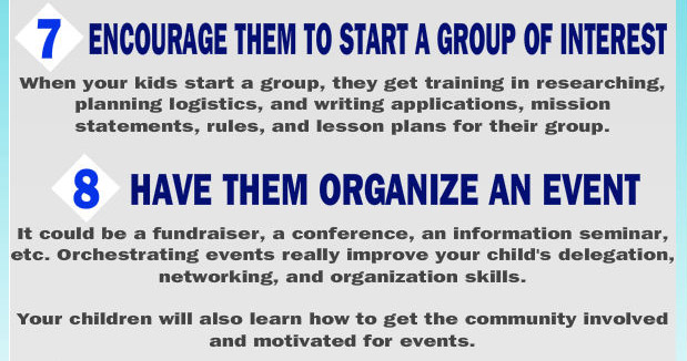 Start a group of interest of organize and event