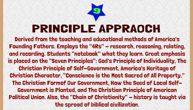 The Principle Approach
