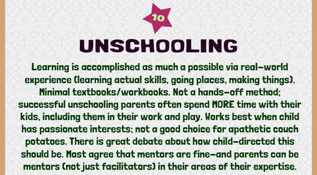 The Unschooling Approach