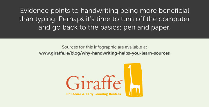 Summary: Handwriting helps you learn much more than typing does