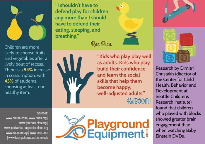 play is as natural as breathing, teaches social skills, play with blocks