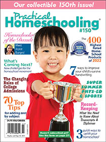 Current issue of Practical Homeschooling magazine
